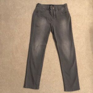 Chico's So slimming gray ankle jean size00